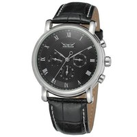 """""""THE WARRIOR"""" Classic Automatic Self-Wind Leather Band Men's Watch"""