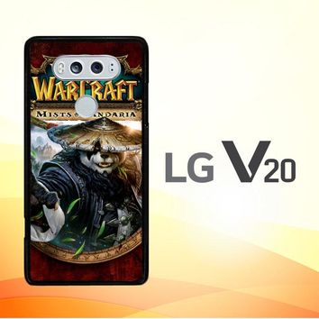 World of Warcraft Guardian Druid Mists of Pandaria Z0652 LG V20 Case
