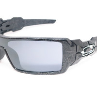 Oakley 24-058 Oil Rig Polished Black Sunglasses