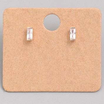 Choose To Shine Earrings - Rose Gold