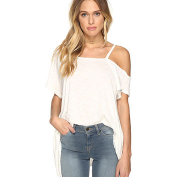 Free People Coraline Tee White - Zappos.com Free Shipping BOTH Ways