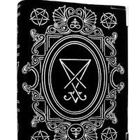 Dark Side Lucifer Sigil Spell Book Bag