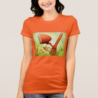 Amazing orange bike light Women's T-Shirt