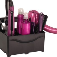 STYLEAWAY - BLACK; Organizer/Hanger for Curling Iron, Flat Iron, Blow Dryer, Hair Styling Products:Amazon:Home & Kitchen