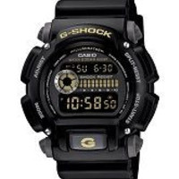 Casio G-Shock Digital Watch MultiFunction Stopwatch Countdown Timer WR 200 Meters DW-9052-1CCG G-Shock Military Watch-ww