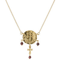 Sutton Hoo garnet necklace