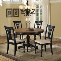 4808dtb48-embassy-round-pedestal-dining-table - Free Shipping!