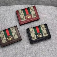 GUCCI 2018 NEW STYLE LEATHER WALLET
