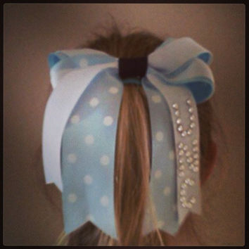 University of North Carolina Hair Bow - UNC Tarheels