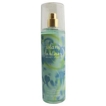 ISLAND FANTASY BRITNEY SPEARS by Britney Spears FRAGRANCE MIST 8 OZ
