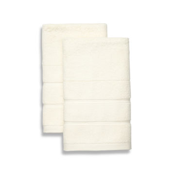 Frette Lanes Hand Towels (Set of 2) - Cream