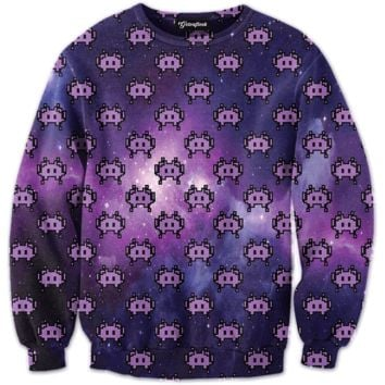Emoji Space Invaders Crewneck