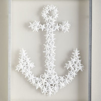 Starfish Anchor Wall Decor
