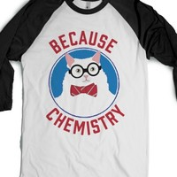 White/Black T-Shirt | Funny Science Shirts