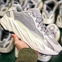 Adidas Yeezy 700 Runner Boost Fashion Vintage Sport Running Shoes Sneakers Grey(Reflective)