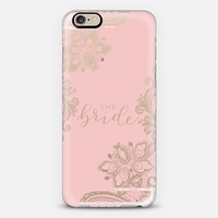 The Bride (transparent) - Perfect for the bride iPhone 6s case by UrbanHue | Casetify