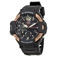 Casio G-Shock Master Of G Black Dial Mens Multifunction Watch GA1100RG-1A