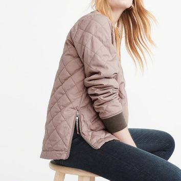 Womens Reversible Bomber Jacket | Womens 60% Off Select Styles | Abercrombie.com