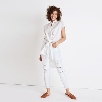 Side-Slit Tunic Shirt