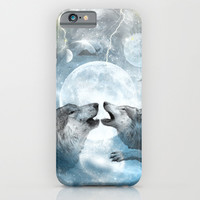 Wolves iPhone & iPod Case by Haroulita