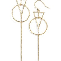 gorjana Triangle Drop Earrings | Nordstrom