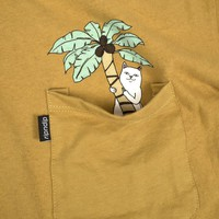 Jungle Nermal Pocket Tee (Medium Brown)