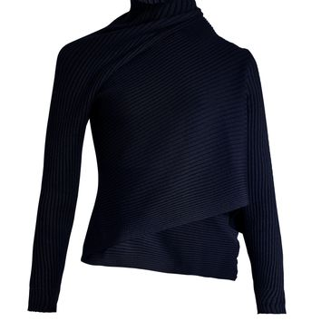 Asymmetric roll-neck wool sweater | Marques'Almeida | MATCHESFASHION.COM US