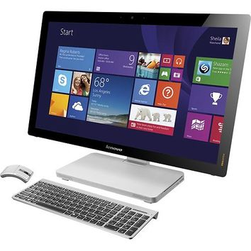 """Lenovo - IdeaCentre 27"""" Touch-Screen All-In-One Computer - 8GB Memory - 1TB Hard Drive"""