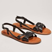AEO Twisted Strappy Sandal | American Eagle Outfitters