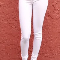 Pure White  Jeans