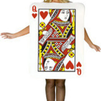 Queen Of Hearts Card Adult Gc6345