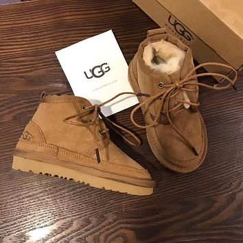 UGG children Warm wool boots