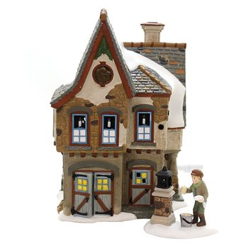 Department 56 House DICKENS WELCOMING CHRISTMAS Dickens Village 6002291
