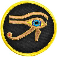 Eye of Horus sew-on patch 3 [ESEYE] - $5.95 : Magickal Products, Crystals, Tarot Decks, Incense, and More!