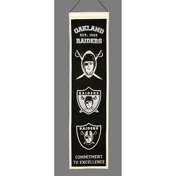 Oakland Raiders NFL Heritage Banner (8x32)