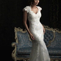 Allure Bridals 8764 Vintage Lace Wedding Dress