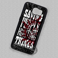 The Family Business Quote Supernatural - Samsung Galaxy S7 S6 S4 Note 5 Cases & Covers