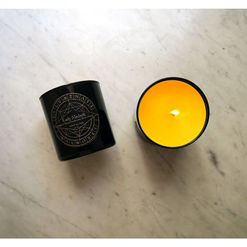 Lady Macbeth Scented Candle in Glass Tumbler