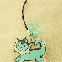 Eeveelution Clear Acrylic Phone Charm