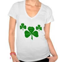 HAPPY ST. PATRICK'S DAY SHAMROCK T SHIRT