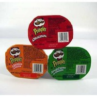 SNACK SIZE PRINGLES POTATO CHIPS- 3 FLAVOR SET