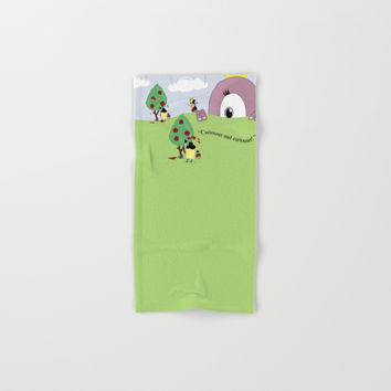 Off with Her Head! Hand & Bath Towel by lalainelim