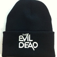 unisex 80's horror movie The Evil Dead beanie