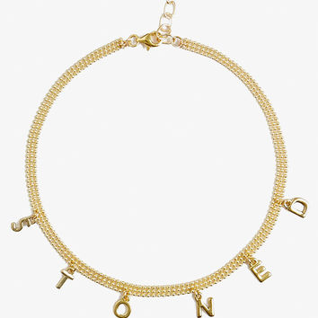 Frasier Sterling Star Crossed Lovers Choker at PacSun.com