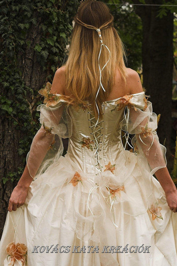 Rococo Inspired Fairy Princess Corseted From KataKovacs On Etsy