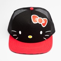 VANS x Hello Kitty Trucker Hat: Black