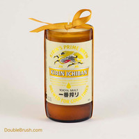 Kirin Drink Japanese Candle Recycled Bottle