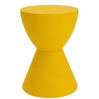 Michael Anthony Furniture Sofie's Room Yellow Side Table/Stool