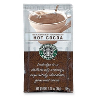 starbucks coffee starbucks hot cocoa, 1.25 oz, 24/ Case of 2