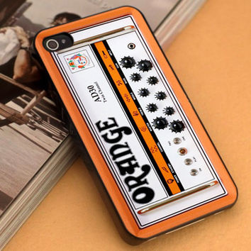 Orange Guitars Amplifiers - iPhone 4/4s,5,5s,5c and Samsung S2,S3,S4 - Plastic Rubber